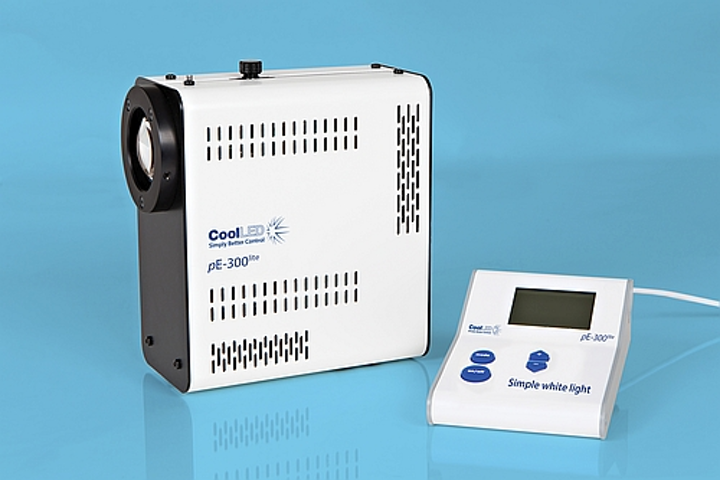 CoolLED engineers compact pE-300lite scientific LED light source for microscopy applications