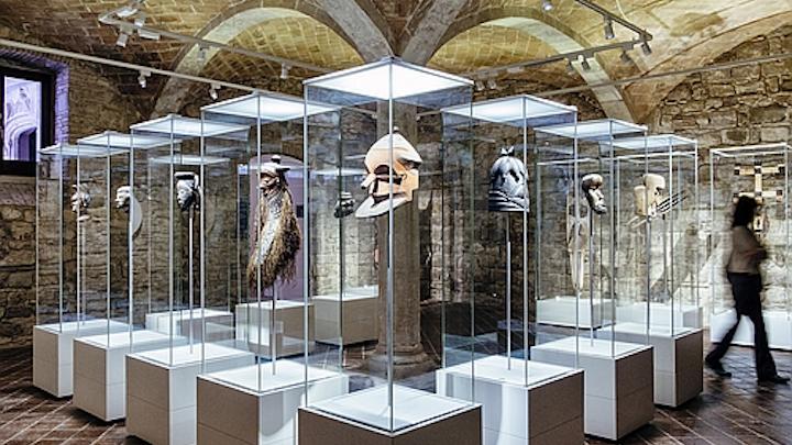 ERCO LED lighting helps Museu de Cultures del Món illuminate cultural diversity