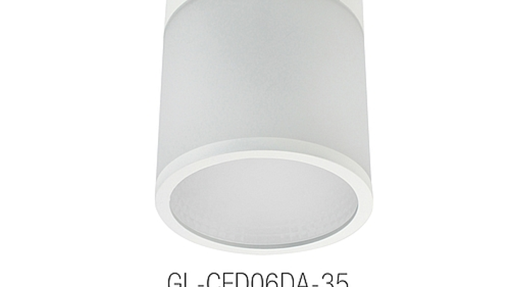 GlacialLight's 35W LED ceiling light is dimmable