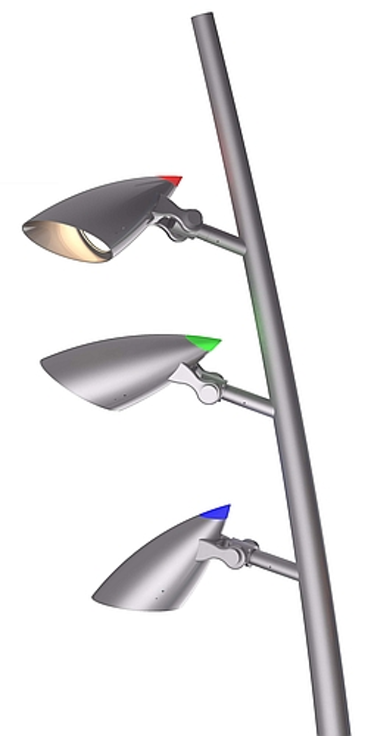 HessAmerica 's ARINI outdoor LED lighting system provides flood and accent lighting