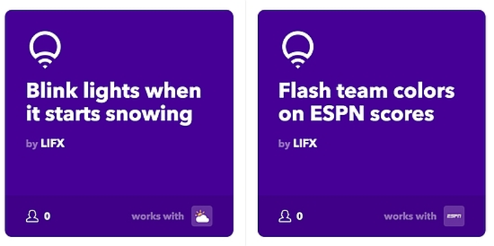"""LIFX expands smart home lighting possibilities with """"if this then that"""" deal"""