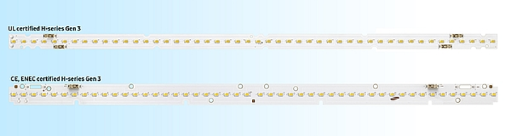 Samsung ramps performance in level 2 linear LED light engines