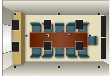 Led lighting proves optimal for video conferencing spaces