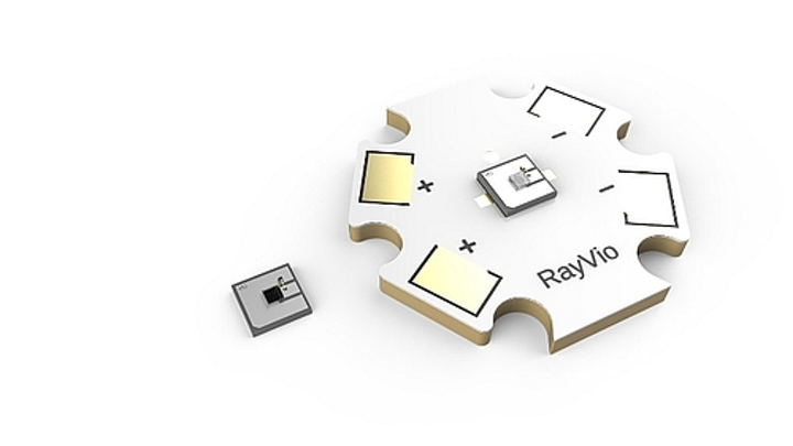 RayVio announces mid-power UV LEDs for health and hygiene applications