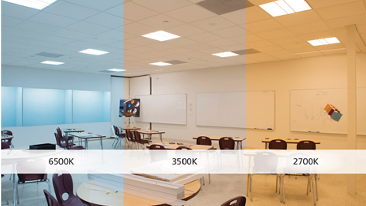 Future-proof tunable white lighting is a smart choice for classrooms