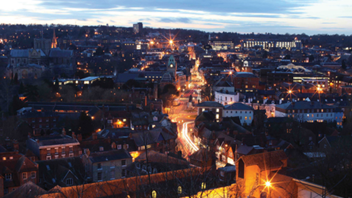 English county shows the way in smart street lighting