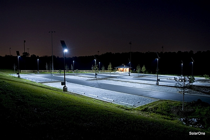 SolarOne will continue to focus on off-grid solar LED lighting systems with the acquisition of Inovus, which offers a solar-panel skin for powering street lighting.