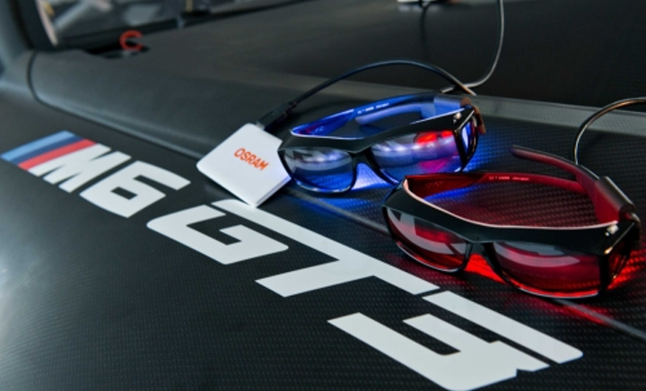 Human-centric lighting will speed ahead at a grueling 24-hour race in Germany this week, where drivers will don special Osram eyeglasses.