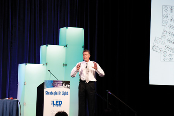 LED market outlook presented at Strategies in Light brightens with new SSL applications emerging