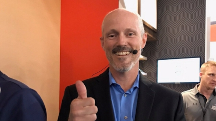 For vice president Greg Carter and Acuity, Atrius marks the company's biggest thumbs up yet to IoT and smart lighting.