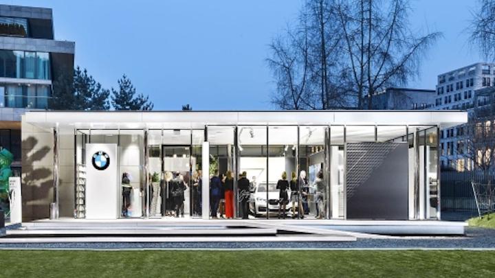BMW considers smart lighting for showrooms