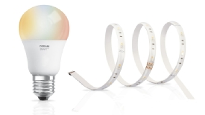 LEDvance's Osram-branded Apple voice-controlled LED strip and smart bulb should reach European retailers in September.