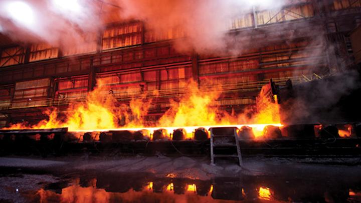 Steel mill blasts away lighting maintenance worries with industrial LED lighting conversion