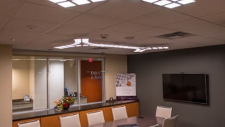 OLED lighting in an office installation delivered comfortable, glare-free illumination, the DOE reported in its latest Gateway publication.