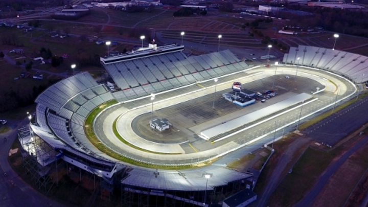 Martinsville Speedway gets LED lighting for fall NASCAR race