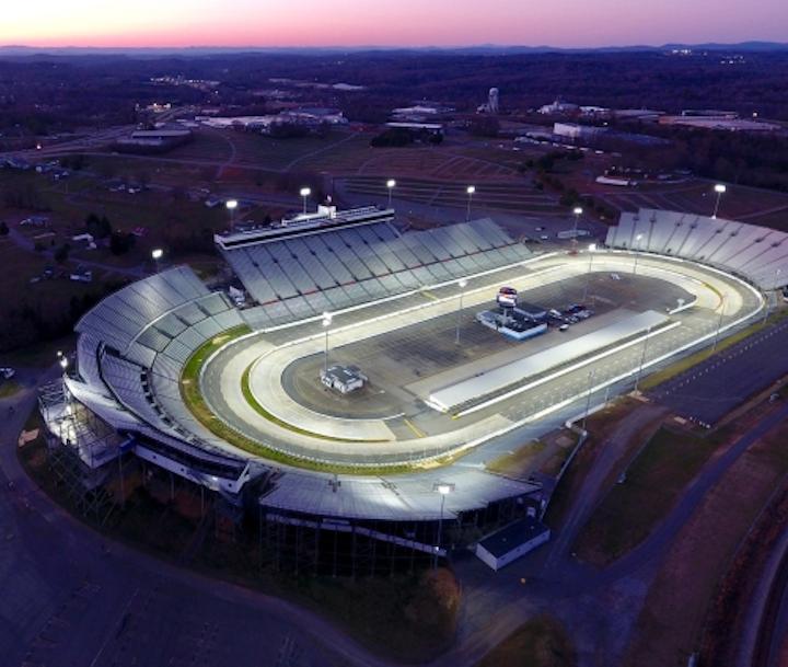 Martinsville Speedway Gets Led Lighting For Fall Nascar Race Leds Magazine