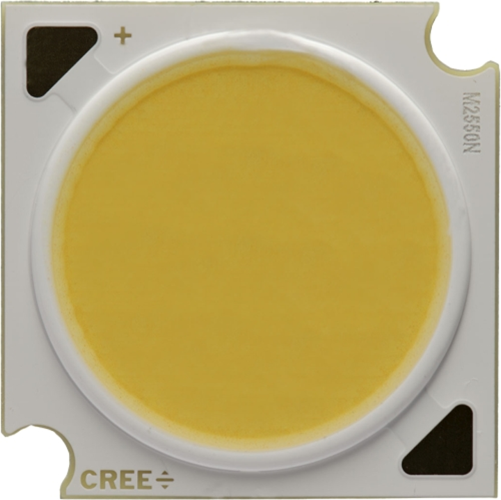 Cree adds high-current COB LEDs based on a metal substrate