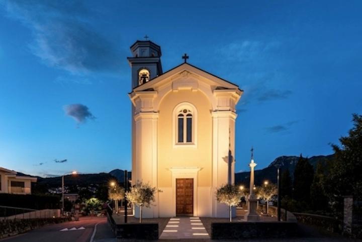 Ancient Church of Porza gets stunning yet non-invasive LED lighting retrofit