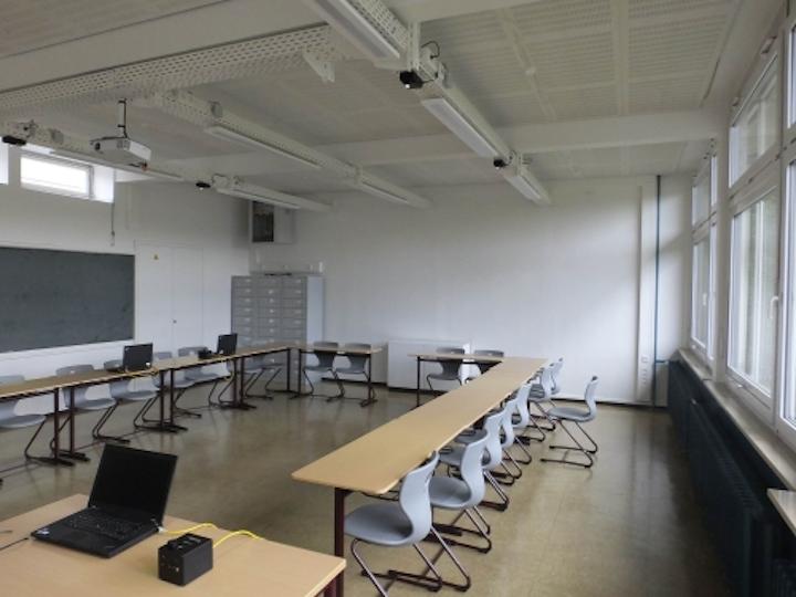A Stuttgart classroom taps a Li-Fi prototype from Fraunhofer