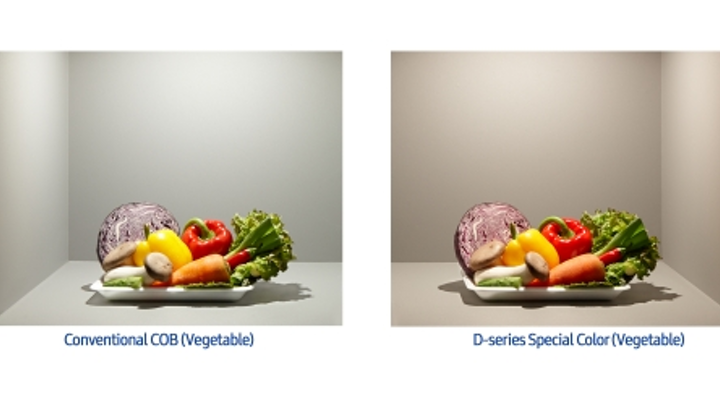 Samsung rolls out COB LEDs with enhanced color and white rendering