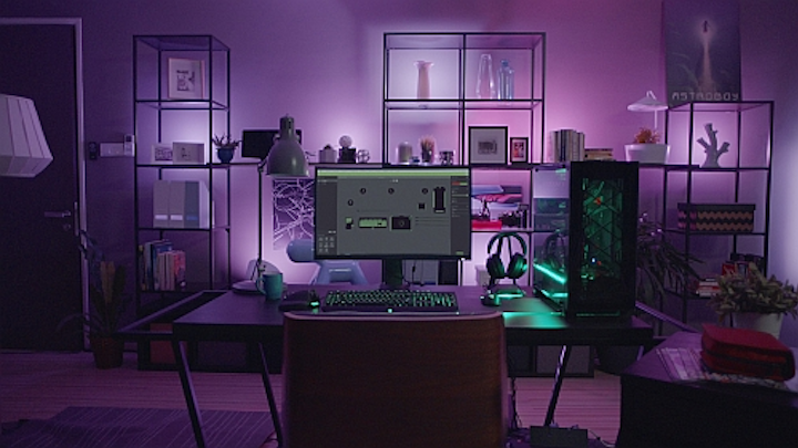 Philips unveils software for Windows and Apple computer games to drive interactive lighting