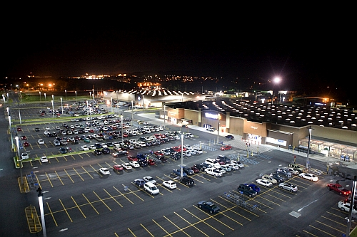 Walmart And Current Announce 1 5 Million Led Luminaire