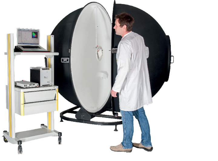 Luminaire and integrating sphere size impact measurement accuracy
