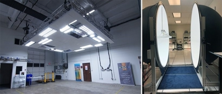 DOE lab tests high-efficacy LED luminaires in a low- or high-bay-type setting