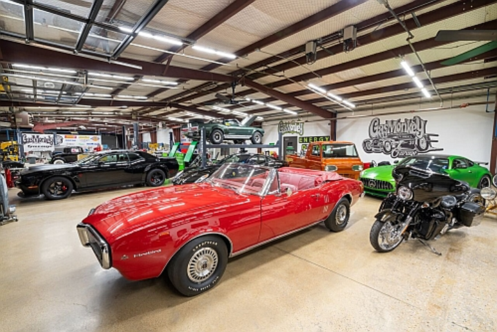 Gas Monkey Garage Transitions Show Car Facility To Dialight Led