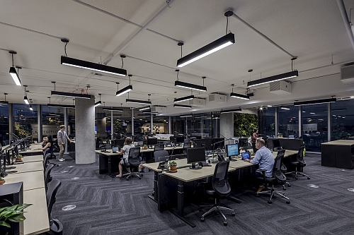 Delos reveals new headquarters with LED lighting meeting WELL and other certifications