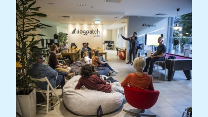 Arm has sunk its IoT teeth into Dublin's tech hub Dogpatch Labs, where the smart building's Internet sensors do not reside in the lights. (Photo credit: Image courtesy of Dogpatch Labs.)