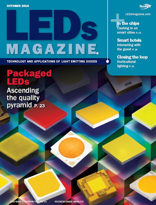 LEDs Magazine Volume 15, Issue 8