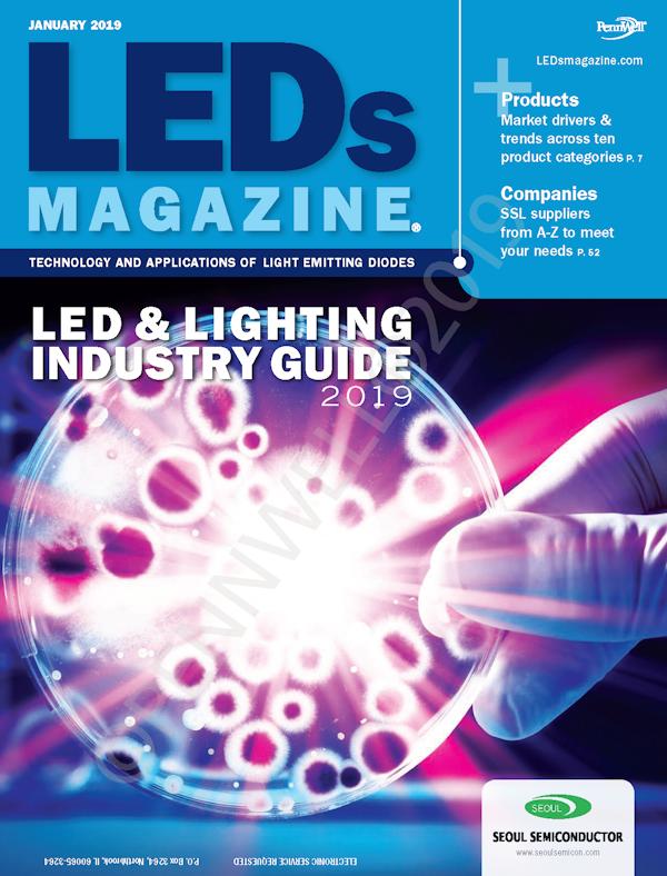 LEDs Magazine Volume 16, Issue 1