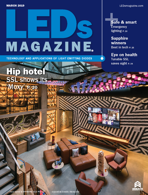 LEDs Magazine Volume 16, Issue 3