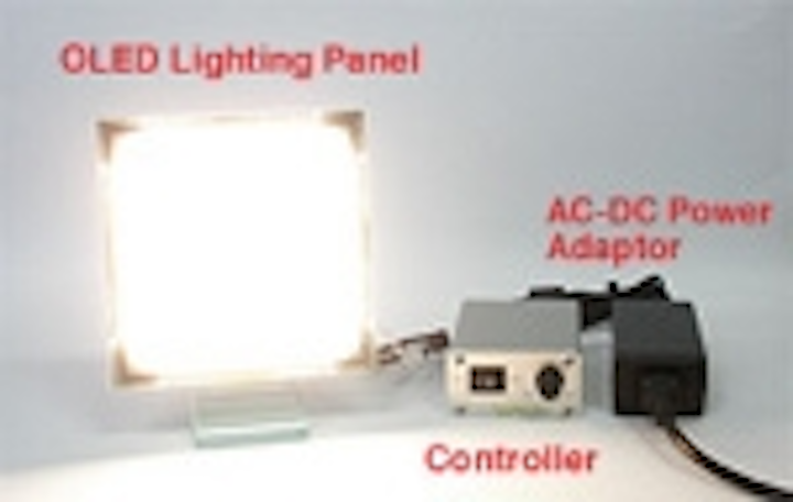Content Dam Leds En Articles 2010 01 Lumiotec Plans To Sample An Oled Sample Kit With Panel Controller And Ac Adapter Leftcolumn Article Thumbnailimage File