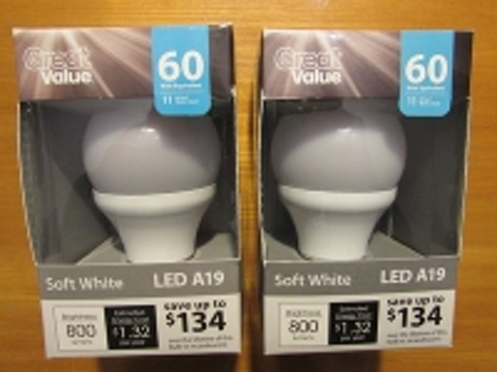 What's inside the Walmart 60W-replacement LED bulb? | LEDs