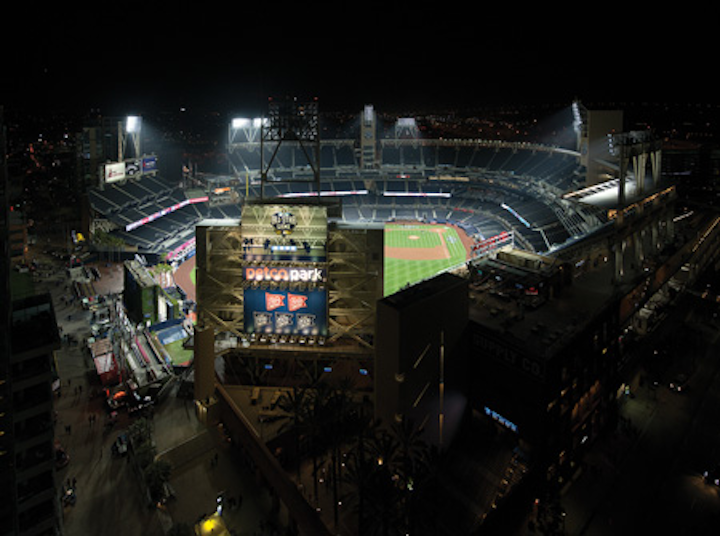 LEDs bring quality and sizzle to baseball venues