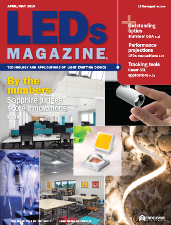 LEDs Magazine Volume 16, Issue 4