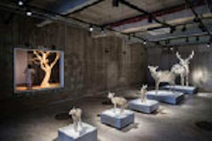 Interpreting Art With Light Museum