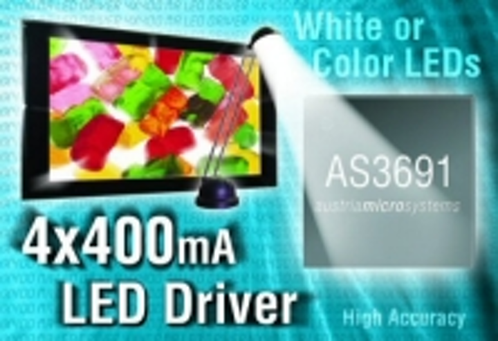 Content Dam Leds En Ugc 2005 08 Austriamicrosystems Launches World S First 4x400ma Led Driver Leftcolumn Article Thumbnailimage File