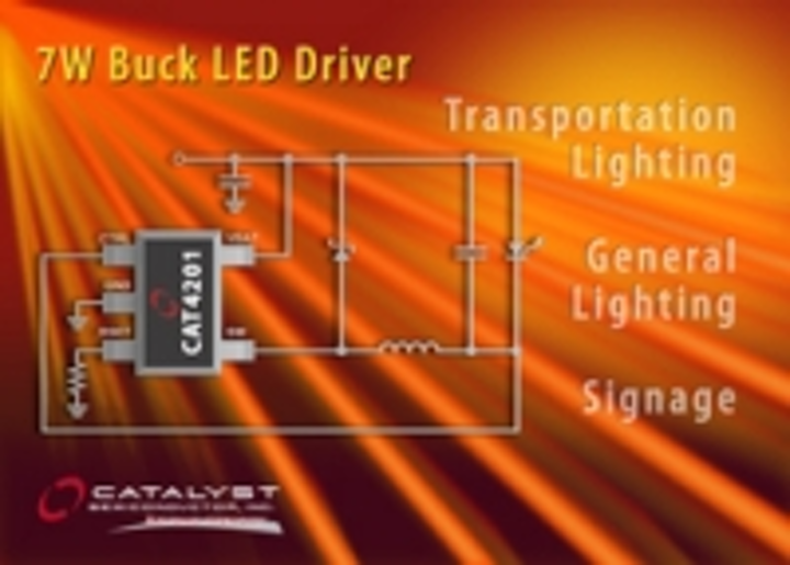 Content Dam Leds En Ugc 2007 07 Catalyst Semiconductor Announces High Efficiency 7w Buck Led Driver In Tsot 23 Package Leftcolumn Article Thumbnailimage File
