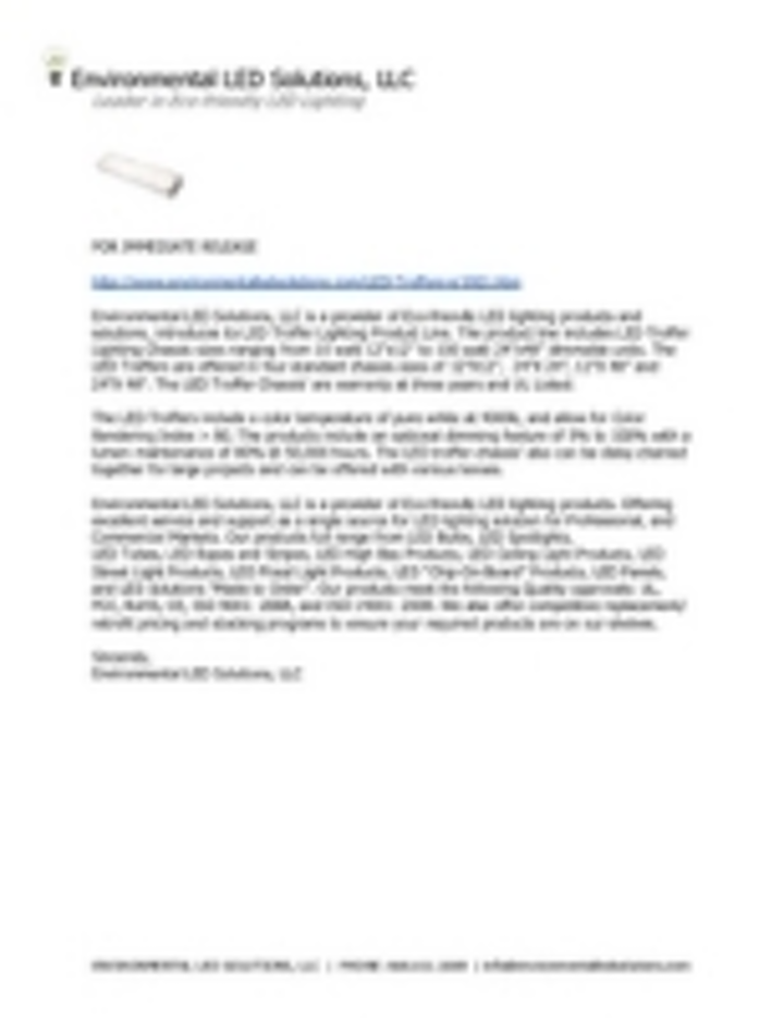 Content Dam Leds En Ugc 2012 10 Environmental Led Solutions Introduces Its Led Troffer Lighting Product Line Leftcolumn Article Thumbnailimage File