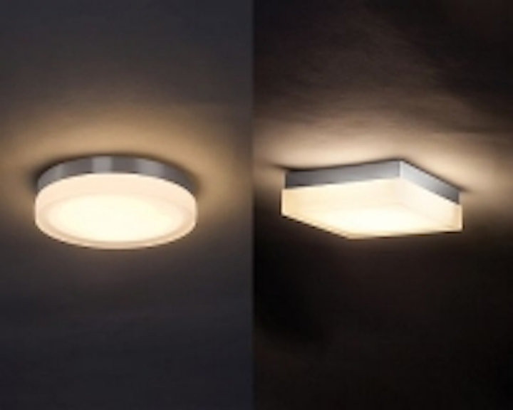 WAC Lighting releases Slice and Dice LED ceiling and wall luminaires with flush mounting