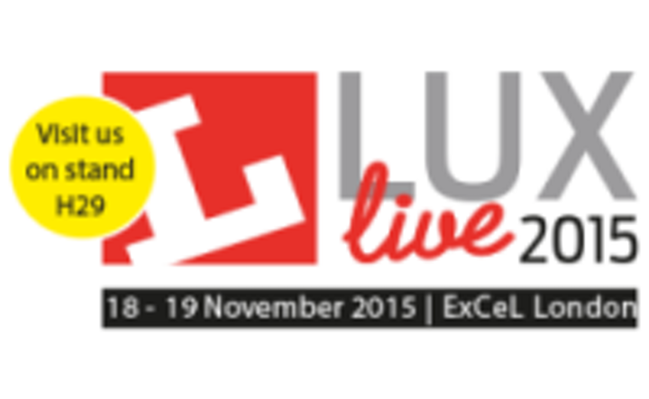 Helvar will exhibit its latest lighting controls at LuxLive 2015