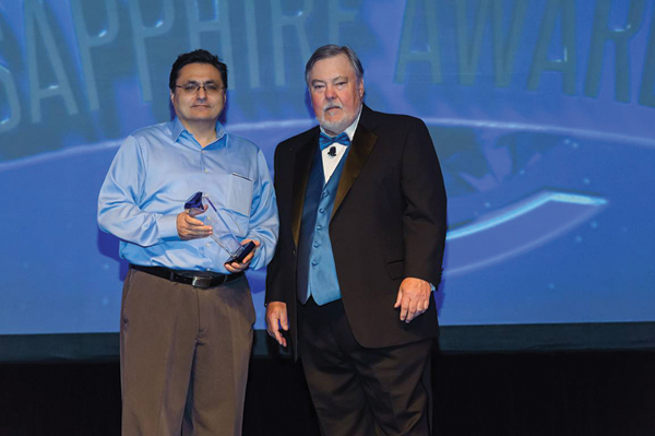 Tigran Galstian discusses dynamic SSL optics innovations and the Sapphire Awards Illumineer win