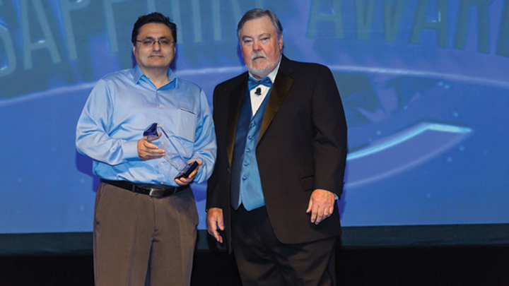 Tigran Galstian discusses dynamic SSL optics innovations and the Sapphire Awards Illumineer win