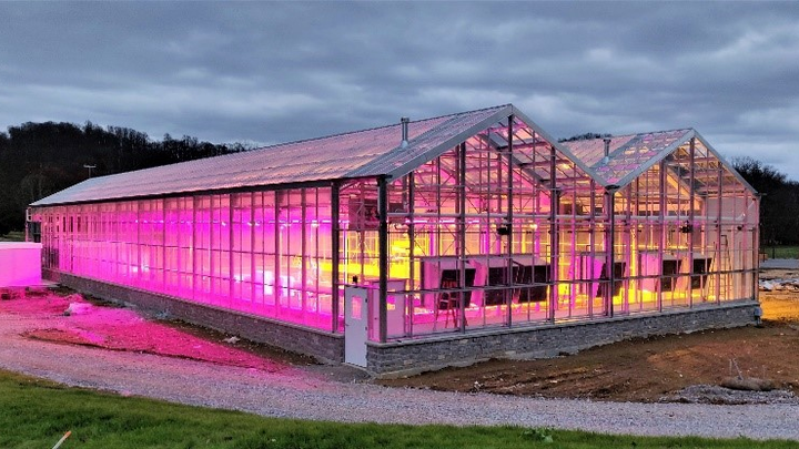The latest in horticultural lighting developments from the DesignLights Consortium, Current, and Fluence Bioengineering. (Photo credit: Image courtesy of Current, powered by GE.)