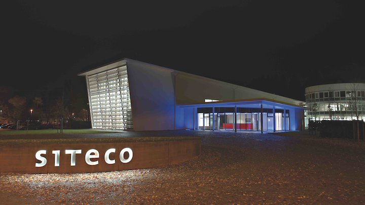 Siteco headquarters in Traunreut, Germany now belongs to investment firm Stern Stewart Capital. (Photo credit: Image courtesy of Osram.)