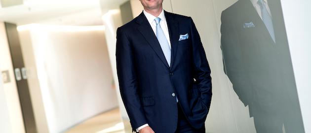 Alexander Everke, CEO of ams, had an eye on Osram. (Photo credit: Image courtesy of ams.)