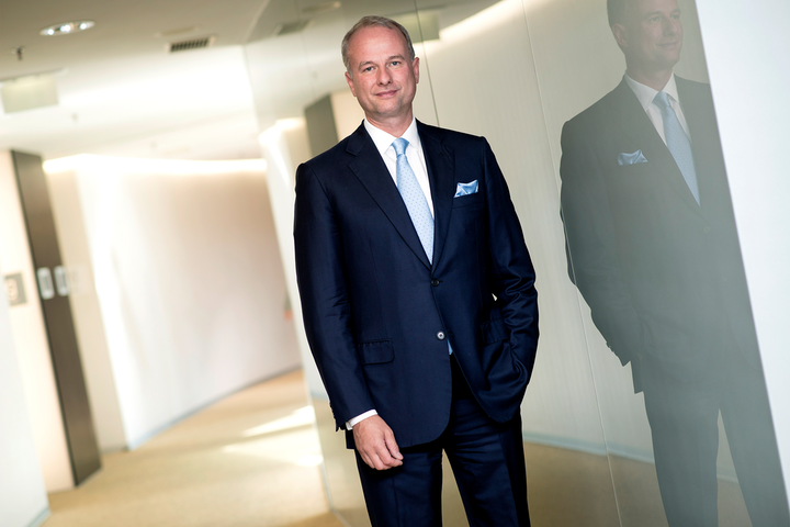 Alexander Everke, CEO of ams, had an eye on Osram. (Photo credit: Image courtesy of ams.)